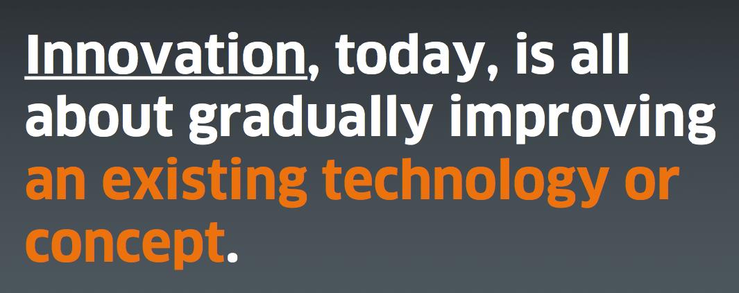 Alain Veuve - Disruption vs. Innovation